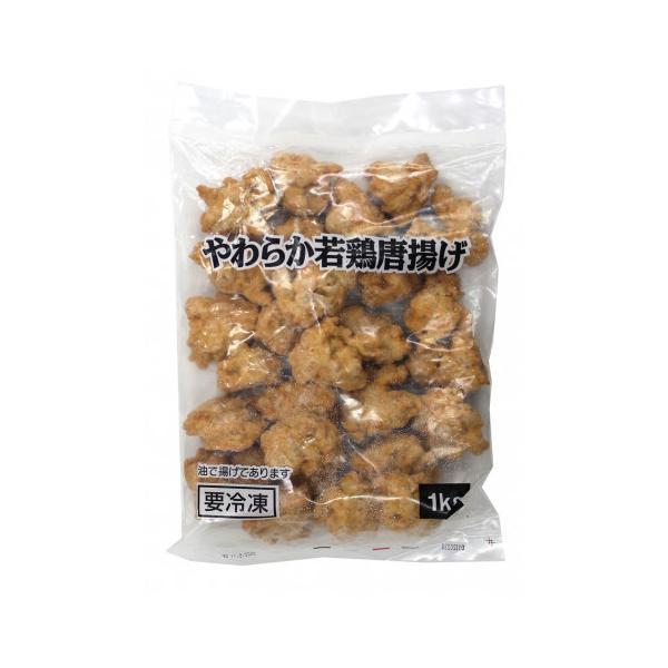 ニチレイ やわらか若鶏唐揚げ 1kg