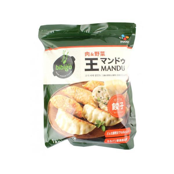 CJジャパン bibigo王餃子 肉&野菜 1kg