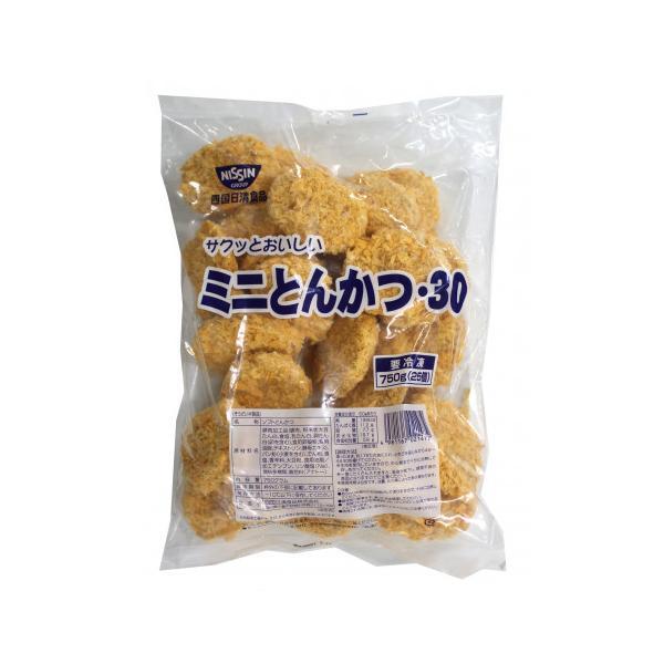 四国日清食品 ミニとんかつ 750g(25個)
