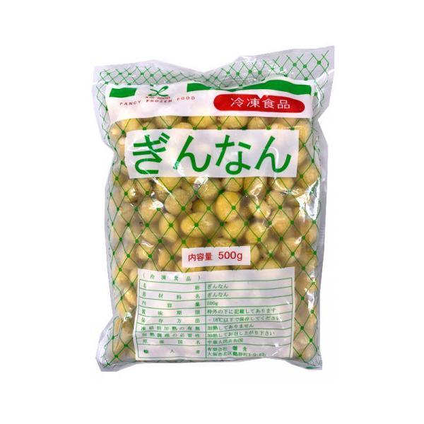 馨食 冷凍銀杏(M) 500g