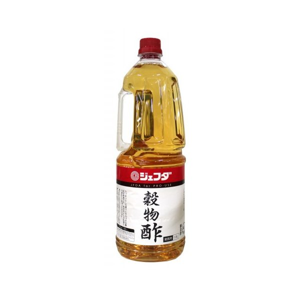 ジェフダ 穀物酢 1.8L