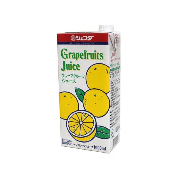 ジェフダ グレープフルーツジュース 1L