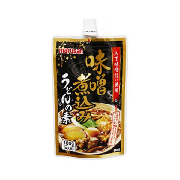 【9/20追加】【秋冬商材】マルサン 味噌煮込みうどんの素 180g