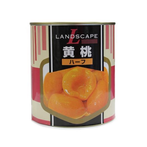 LANDSCAPE 黄桃ハーフ 3000g