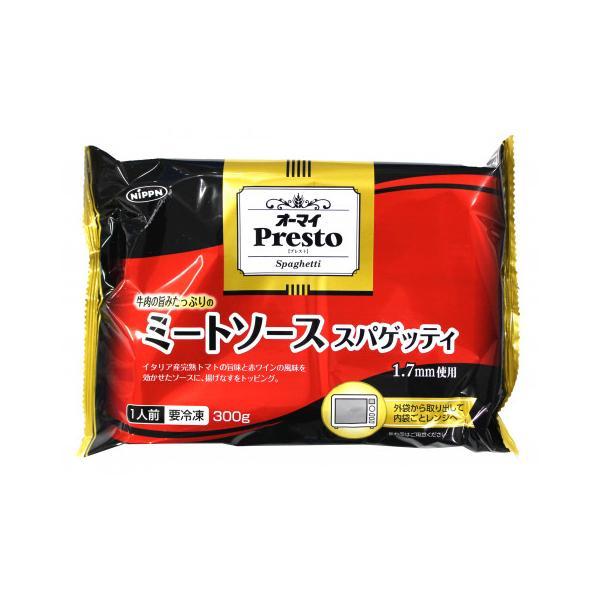 日本製粉 オーマイPrestoレンジ用ミートソーススパゲッティ 300g
