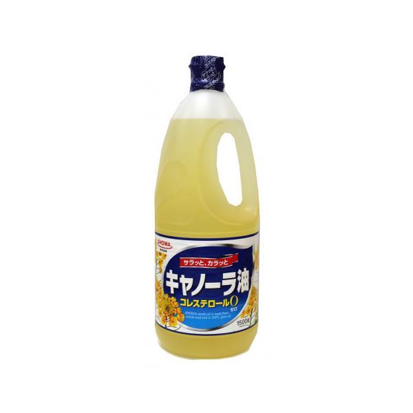 昭和産業 キャノーラ油 1500g