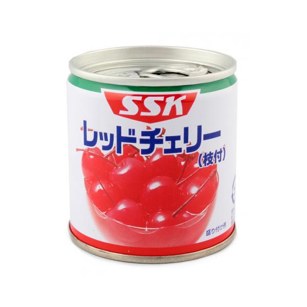 清水食品 レッドチェリー(枝付) 190g