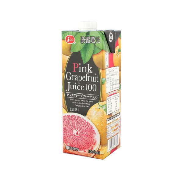 ジューシー ピンクグレープフルーツ100 1000ml