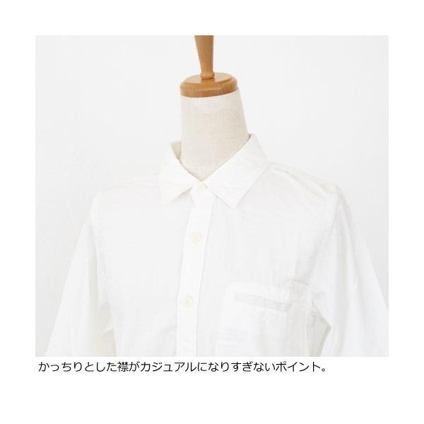 D.M.G シャツ 7分袖 コットン ドミンゴ 16-323E|amico-di-ineya|02