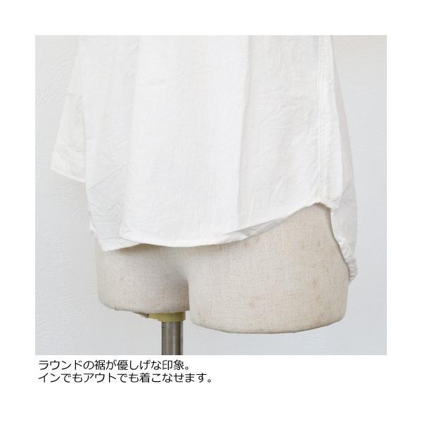 D.M.G シャツ 7分袖 コットン ドミンゴ 16-323E|amico-di-ineya|05