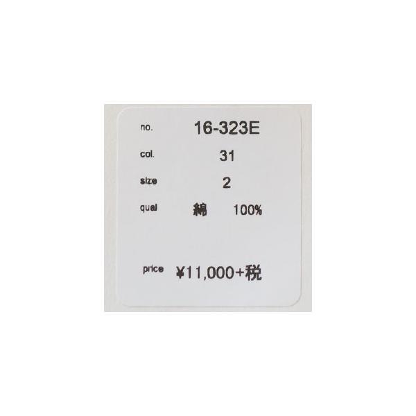 D.M.G シャツ 7分袖 コットン ドミンゴ 16-323E|amico-di-ineya|08