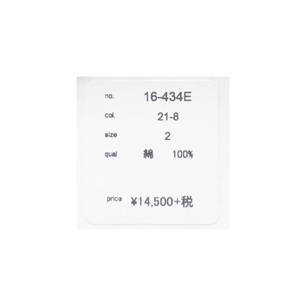 D.M.G 長袖シャツ デニム スタンドカラー コットン ドミンゴ 16-434E|amico-di-ineya|10