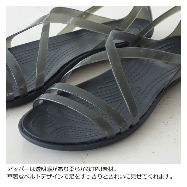 Crocs (クロックス) サンダル Women's isabella strappy Sandal 204915|amico-di-ineya|02