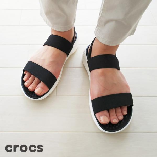 Crocs (クロックス) サンダル Women's LiteRide Sandal 205106|amico-di-ineya