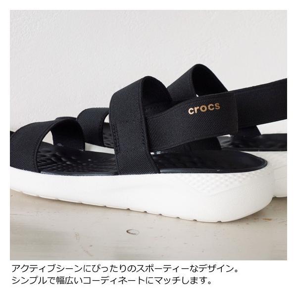 Crocs (クロックス) サンダル Women's LiteRide Sandal 205106|amico-di-ineya|03