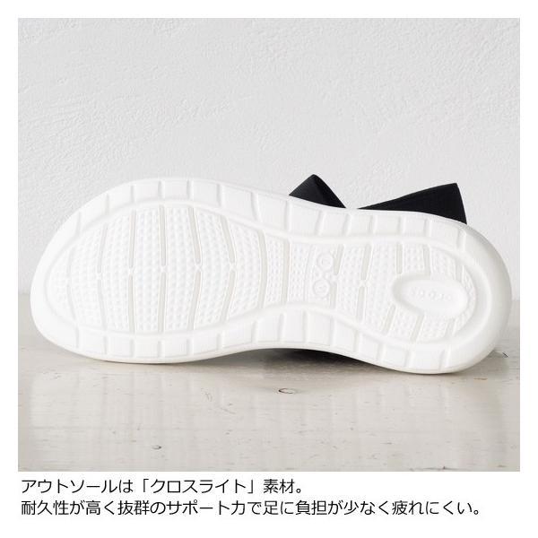 Crocs (クロックス) サンダル Women's LiteRide Sandal 205106|amico-di-ineya|05