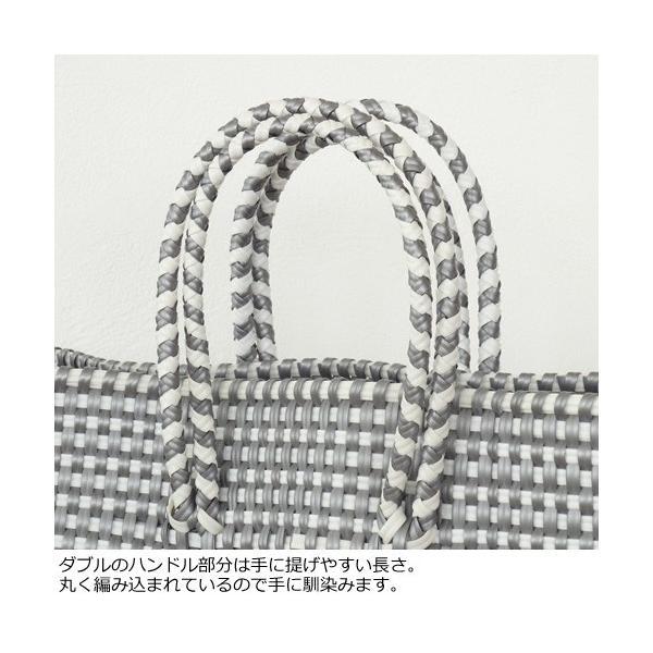 SANRAMI (サンラミ) ポリエチレン かごバッグ メルカドバッグ [Lサイズ] 384018 amico-di-ineya 02