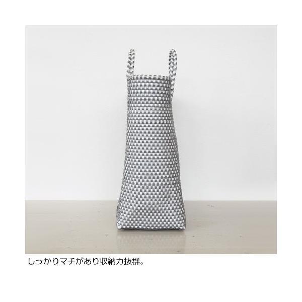 SANRAMI (サンラミ) ポリエチレン かごバッグ メルカドバッグ [Lサイズ] 384018 amico-di-ineya 04