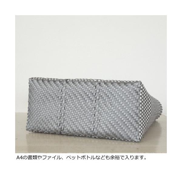 SANRAMI (サンラミ) ポリエチレン かごバッグ メルカドバッグ [Lサイズ] 384018 amico-di-ineya 05