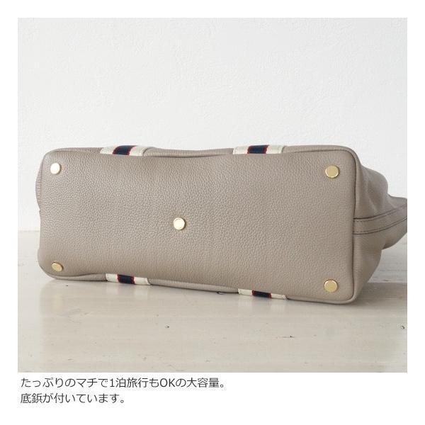 TOPKAPI (トプカピ) ストライプハンドル レザー A4 トートバッグ|amico-di-ineya|07