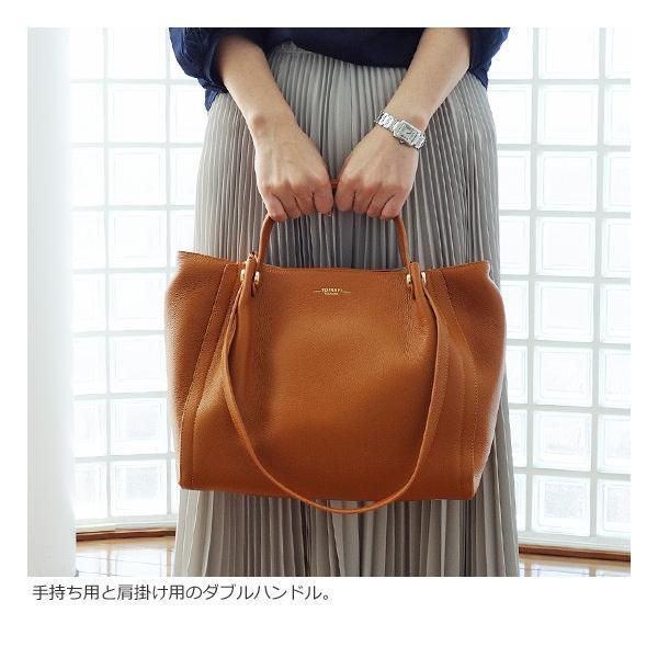 TOPKAPI (トプカピ) ダブルハンドル シュリンクレザー トートバッグ|amico-di-ineya|02