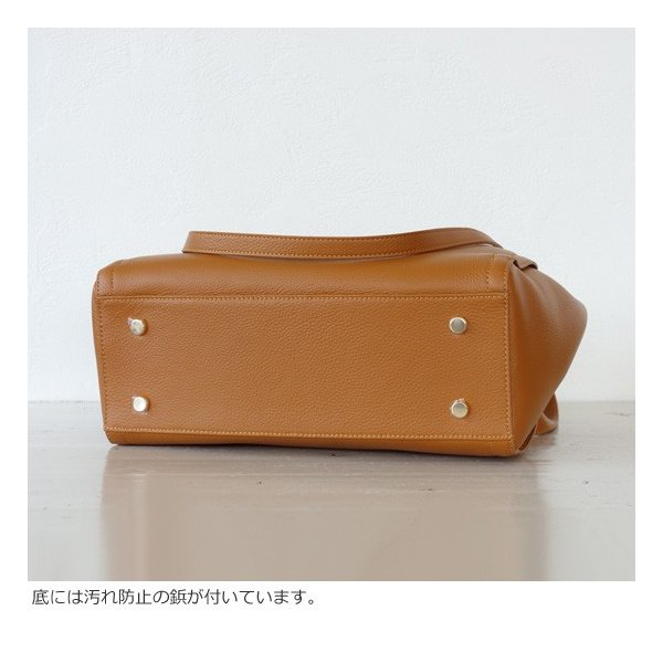 TOPKAPI (トプカピ) ダブルハンドル シュリンクレザー トートバッグ|amico-di-ineya|07
