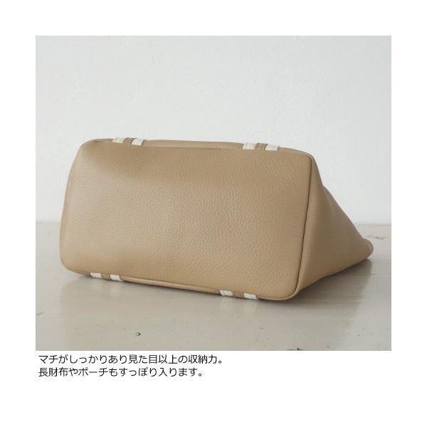 TOPKAPI トプカピ ソフトシュリンクレザー テープコンビ ミニ トートバッグ [Sサイズ] 501-06-80002|amico-di-ineya|07
