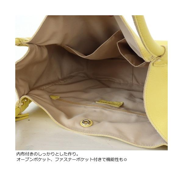 TOPKAPI トプカピ タッセル付 ソフトシュリンクレザー A4トートバッグ 501-06-80011|amico-di-ineya|05
