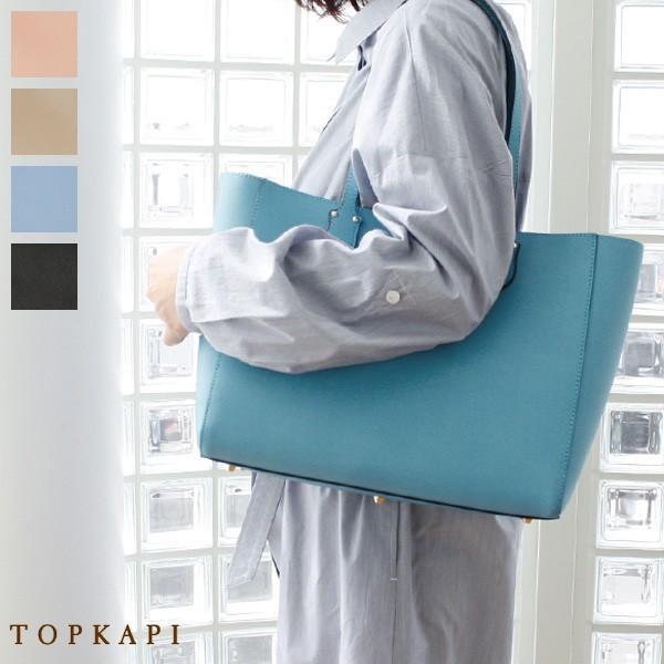 TOPKAPI トプカピ スプリットレザー ダブルフェイス A4 トートバッグ 501-06-80104|amico-di-ineya