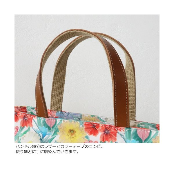 TOPKAPI トプカピ リバティプリント ミニ トートバッグ 502-12-81002|amico-di-ineya|02