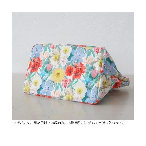TOPKAPI トプカピ リバティプリント ミニ トートバッグ 502-12-81002|amico-di-ineya|06