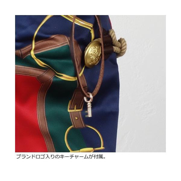 TOPKAPI A4 トートバッグ スカーフ パネル柄 マイルドサテン トプカピ 503-06-11006|amico-di-ineya|03