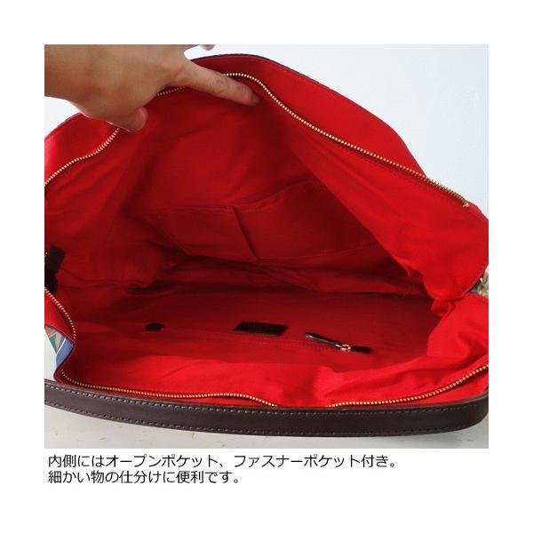 TOPKAPI A4 トートバッグ スカーフ パネル柄 マイルドサテン トプカピ 503-06-11006|amico-di-ineya|06