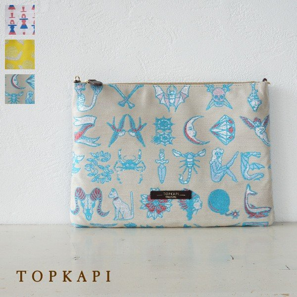 TOPKAPI (トプカピ) 2WAY MALHIA KENT クラッチバッグ ショルダーバッグ|amico-di-ineya