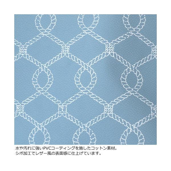 TOPKAPI トプカピ ロープ柄 PVCコーティング トート バッグ 日本製 503-06-81023|amico-di-ineya|07