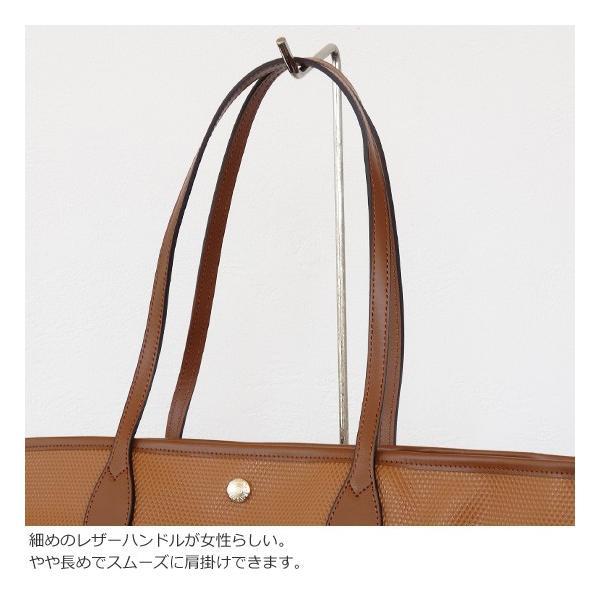 TOPKAPI (トプカピ) PVC加工 ビッグ トートバッグ RHOMBUS amico-di-ineya 02