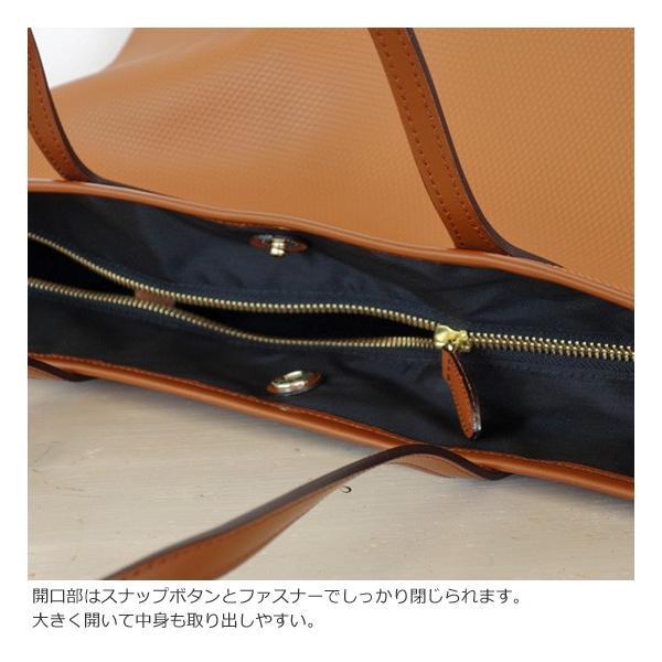 TOPKAPI (トプカピ) PVC加工 ビッグ トートバッグ RHOMBUS amico-di-ineya 03