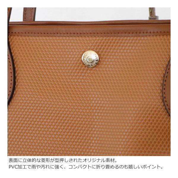 TOPKAPI (トプカピ) PVC加工 ビッグ トートバッグ RHOMBUS amico-di-ineya 05