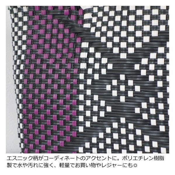TOPKAPI (トプカピ) エスニック ラフィア ポンポン メルカドバッグ [Sサイズ] 506-06-20014 amico-di-ineya 04