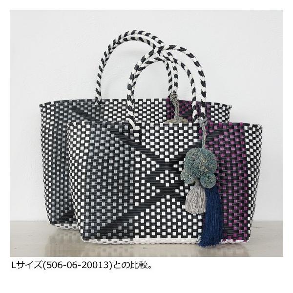 TOPKAPI (トプカピ) エスニック ラフィア ポンポン メルカドバッグ [Sサイズ] 506-06-20014 amico-di-ineya 06