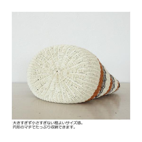 TOPKAPI (トプカピ) サイザル麻 ボーダー かご トート バッグ 506-06-80003|amico-di-ineya|07
