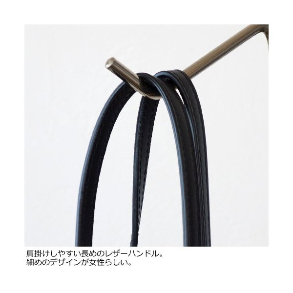 TOPKAPI (トプカピ) ボーダー ショルダー 筒形 かご バッグ 506-06-80005|amico-di-ineya|02