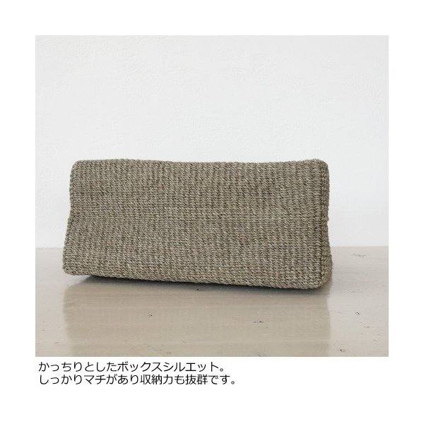 TOPKAPI (トプカピ) アバカ ベルトコンビ トート かごバッグ [Mサイズ] 506-06-81007|amico-di-ineya|09