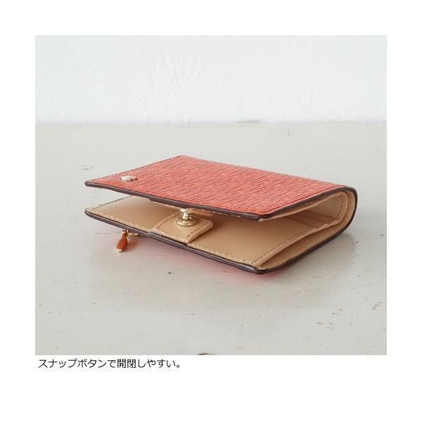 TOPKAPI (トプカピ) レザー 二つ折り ミニ財布 メッシュ柄型押し 牛革 RITMO 511-14-80023|amico-di-ineya|02