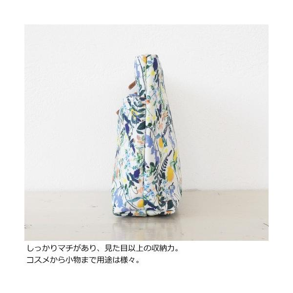 TOPKAPI トプカピ リバティプリント ダブルファスナーポーチ 531-12-81012 amico-di-ineya 04