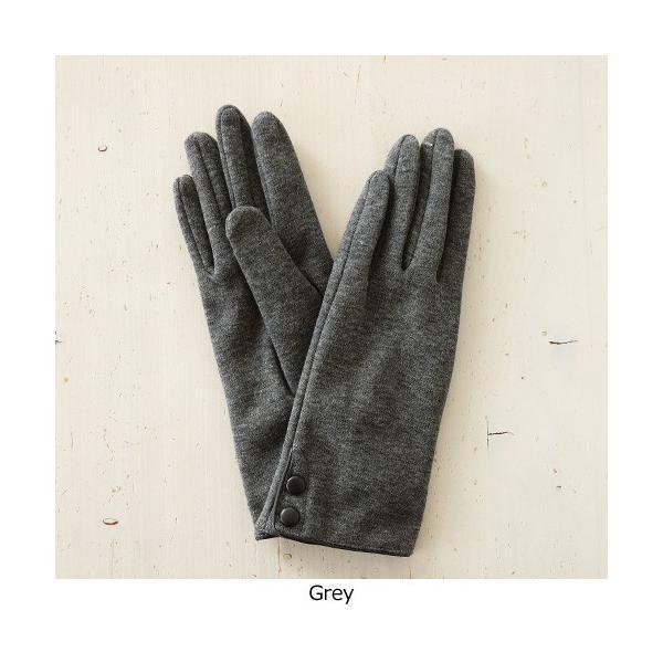 Sergio de Rosa (セルジオデローザ) グローブ 手袋 イタリア製 ボタン付 裏起毛 5310|amico-di-ineya|03