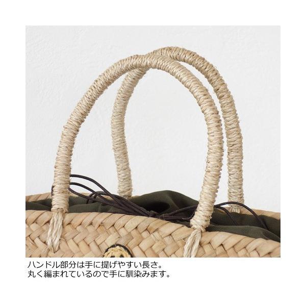 Cachellie (カシェリエ) かごバッグ サマー刺繍 バンカン トートバッグ|amico-di-ineya|02