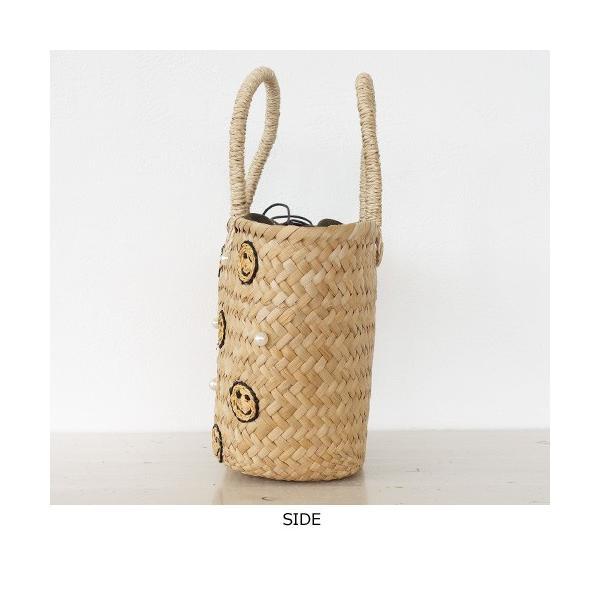 Cachellie (カシェリエ) かごバッグ サマー刺繍 バンカン トートバッグ|amico-di-ineya|06