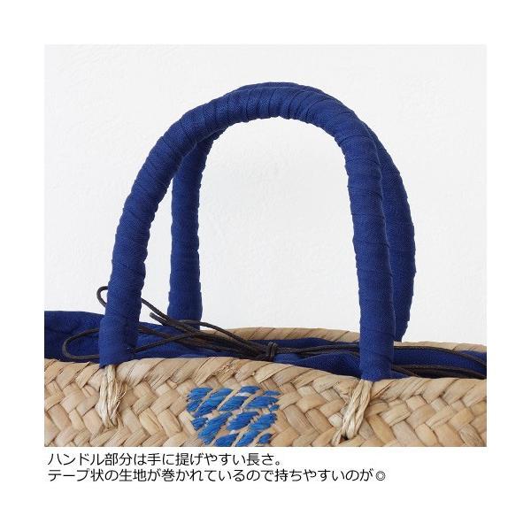 Cachellie カシェリエ かごバッグ パイナップル 刺繍 バンカン トートバッグ 54-4302|amico-di-ineya|02