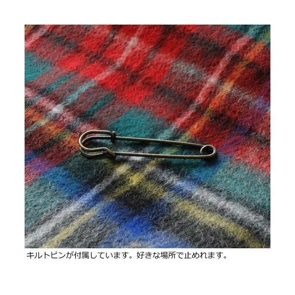 TWEEDMILL (ツイードミル) ウール マフラー ストール 70x190(全15色)キルトピン付き|amico-di-ineya|05